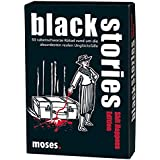 moses. black stories Shit Happens Edition | 50 rabenschwarze Rätsel | Das Krimi Kartenspiel