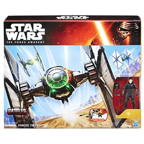 Star Wars - Figura Starfighter y piloto (Hasbro)