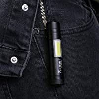 Watton Wt-022 Mini Güçlü Şarjlı Pilli EL Feneri Çok Fonksiyonlu