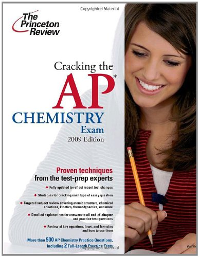 Jetzt Downloaden Cracking The Ap Chemistry Exam 2009 Edition Bucher