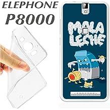 "J114 ELEPHONE P8000 P 8000 CARCASA FUNDA TPU MALA LECHE VI""ETA DIVERTIDA"