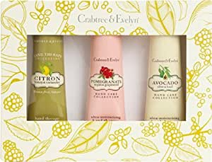 Crabtree & Evelyn Botanical Hand Therapy Sampler 3x25g