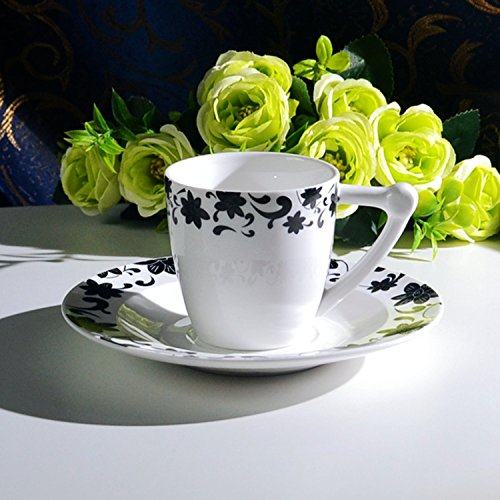 HONGYUANZHANG Keramik Tasse Kaffee Tee Am Nachmittag Tasse Büro Esszimmer Tasse Kaffee Tasse (150...