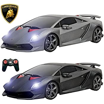 ptl lamborghini sesto elemento remote control cars with working lights pl619 124 licensed electric radio controlled rc cars for kids top popular best