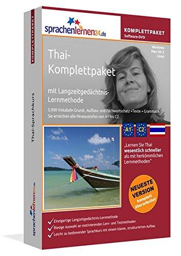 Thai-Komplettpaket: Lernstufen A1 bis C2. Fließend Thai lernen mit der...