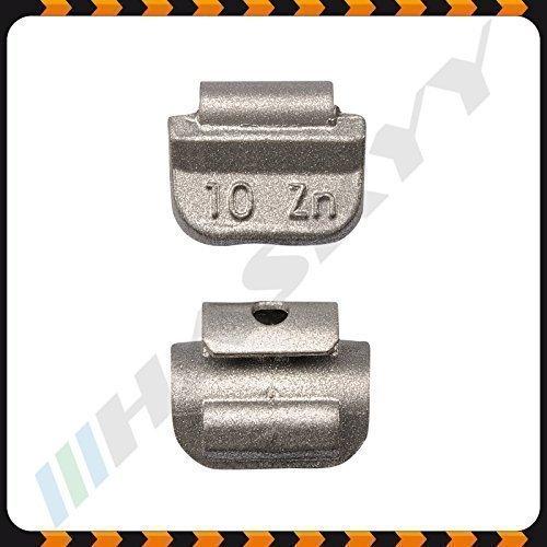 10g x 100 Schlaggewichte Stahlfelgen Auswuchtgewichte Wuchtgewichte Gewichte