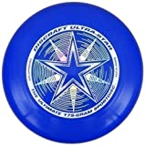 "Discraft Ultra-Star 175g Ultimate Frisbee ""Starburst"" - royal azul"