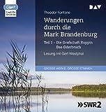 """Ungekürzte Lesung mit Gert Westphal (1 mp3-CD), Lesung. MP3 Format. 485 Min.MP3 Audio CD""""Die Wanderungen durch die Mark Brandenburg"""" gehören zu den bekanntesten Werken der deutschen Reiseliteratur. Fontane beschreibt in ihnen nicht nur die Landschaft..."""