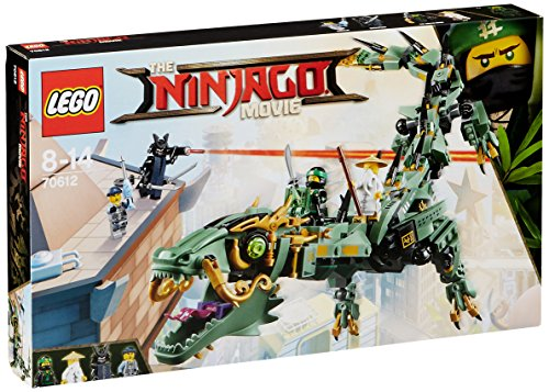 Lego Ninjago 70612 Drago Mech Ninja, Verde
