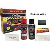 Com-Paint Scratch Remover Value pack kit for Maruti Suzuki Cars - Pl. Arctic White (With Keychain)