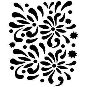 Eulenspiegel Flower Balls Plantilla de pintura facial 109335