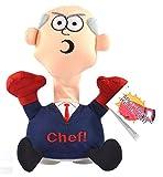 Kögler 75578 - Stoffpuppe Stress-Max Chef