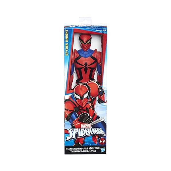 Hasbro Marvel Spider-Man Titan Hero Series Scarlet Spider Figure 1pieza(s) Multicolor Niño - Figuras de Juguete para… 3