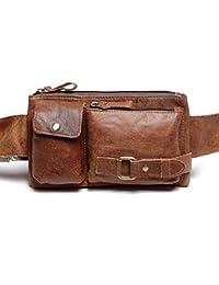 Viajes Hombres Vendimia Senderismo Deporte paquete cintura práctico correa bolsa bolsillo honda de la cintura Hip riñonera cadera Bolso