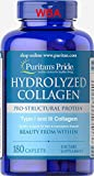 Best Hydrolyzed Collagens - PURITAN'S Pride HYDROLYZED Collagen 1000 MG 180 CAPLETS Review