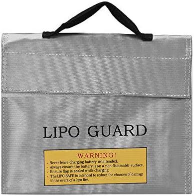 Docooler Sac de protection batterie de batterie protection Lipo Sac de stockage de charge sûr antidéflagrant antidéflagrant 4471ee