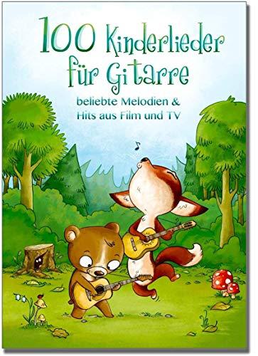100 Kinderlieder für Gitarre - 100 bekannte Kinderlieder, Hits aus Film und Fernsehen - Verlag: Bosworth Edition - BOE7828 - ISBN: 9783865439383