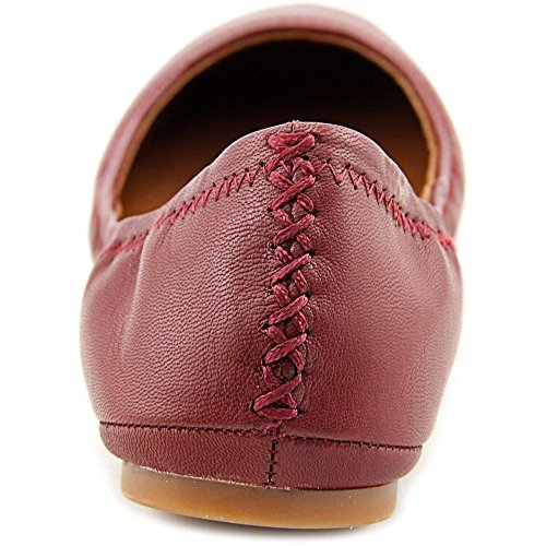 Lucky Brand Emmie Cuir Ballerines Ruby Wine-Leather