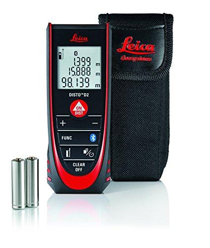 Preisvergleich Produktbild LEICA Entfernungsmesser Disto D2 New Bluetooth, 1 Stück, schwarz, 837031