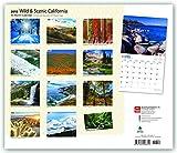 California - Wild & Scenic - Kalifornien 2018 - 18-Monatskalender mit freier TravelDays-App: Original BrownTrout-Kalender - Deluxe [Mehrsprachig] [Kalender] (Deluxe-Kalender) - BrownTrout Publisher