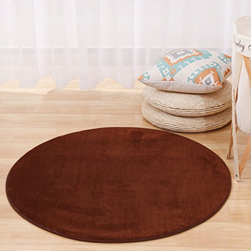 Tappeto con tappeto moderno in tinta unita con motivi classici tappeto tondo tappeto moderno da camera da letto moderna soggiorno tavolino da salotto home tappeto sgabello da computer spessi