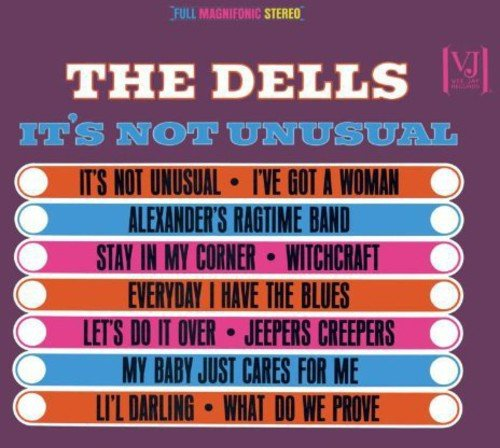 The Dells ‎– It's Not Unusual