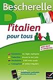 bescherelle l italien pour tous grammaire vocabulaire conjugaison