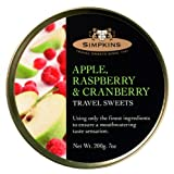 #4: Simpkins Apple, Raspberry and Cranberry,Travel Sweets, 200g