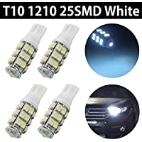 MTEC XENON WHITE LED BULBS T10 194 2825 921 168 158