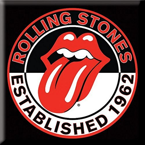 The Rolling Stones - Metall Magnet - Established 1962 - Tongue Logo