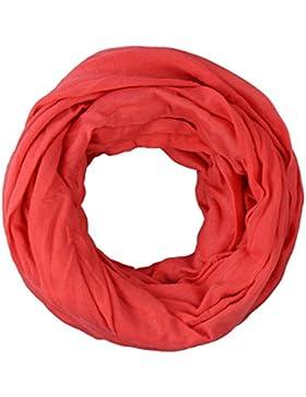 Bufanda tubo extra largo XXL de material suave in diferentes colores