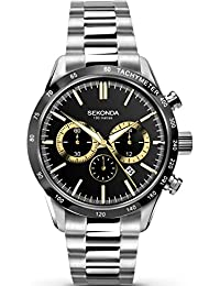 Sekonda Mens  Watch, Chronograph Display and Stainless Steel Strap 1167