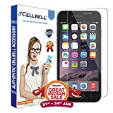 CELLBELL® Apple iPhone 8 Tempered Glass Screen Protector Guard With FREE Installation Kit