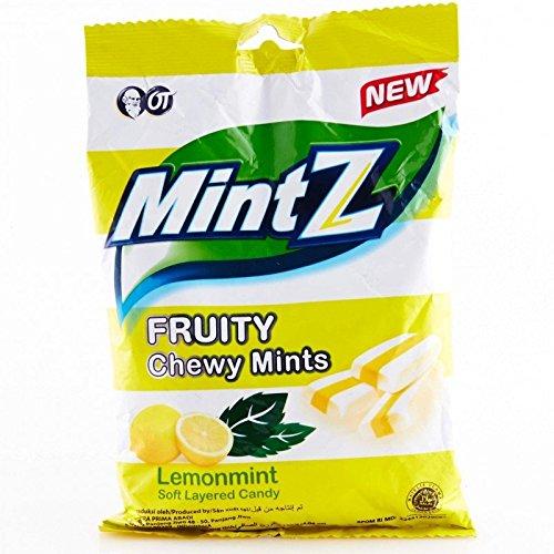 Mintz Chewy Candy, 125 Gram (Lemonmint) Lot de 3