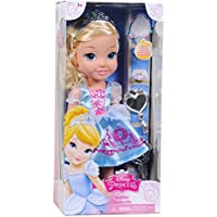 Disney Princess Toddler Cinderella (13.5 inch tall doll) and Jewellery Set