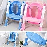 Faltbare Kinder Töpfchen Sitz Mit Leiterabdeckung PP WC Verstellbare Stuhl Pee Ausbildung Urinal Sitzplätze Potties für Jungen Mädchen