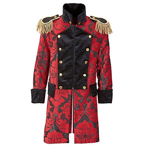 Widmann 59293 Herren Mantel Jaquard Parade kostüm, L, L