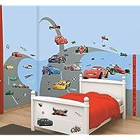 Walltastic Cars Disney Kit Decorazione Stanze, Carta, Multicolore, 37.5x8x18 cm