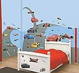Walltastic Disney, Cars, Kit zur Raumdekoration, Vinyl, bunt, 37.5 x 8 x 18 cm