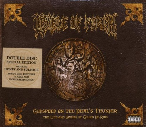 Godspeed On The Devil's Thunder(Special Edition 2 CD) by Cradle of Filth (2008-10-28)