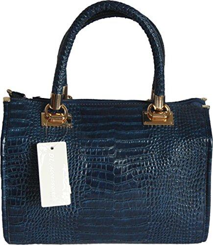 H&G Ladies Designer Tote  borsa a spalla DL accessori �?Parigi Navy