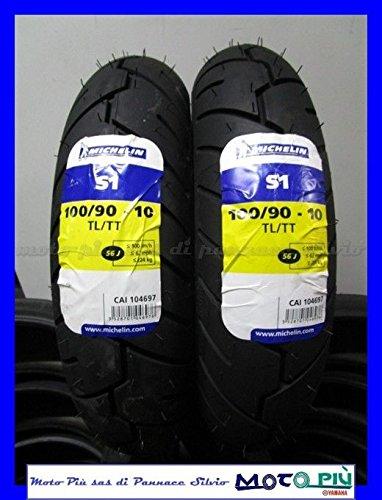 Union Pneumatico 100//90-10 per Scooter Piaggio Vespa VESPONE Ape 61J Gomma COPERTONE Disegno Michelin