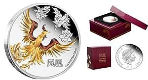 FENG SHUI PHOENIX Supernatural Creature 1 Oz Silver Coin 2$ Niue 2015