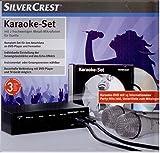 Karaoke Set mit 2 Mikrofonen, Karaoke DVD 15 Partyhits