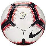 Nike Liga Nos Skills Ballon de Football Blanc/Bright Crimson/Noir 1