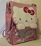 Zaino Hello Kitty estendibile rosa scintillante