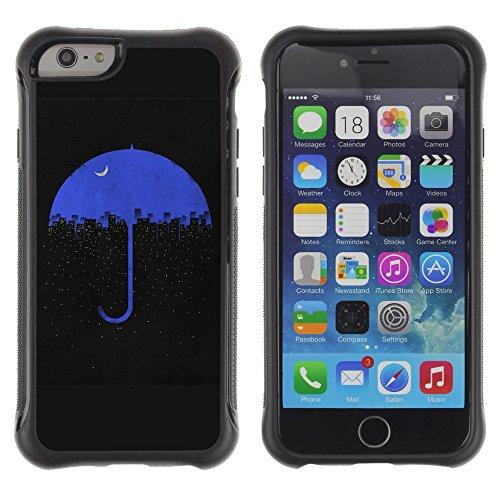 Graphic4You Art Drawing Design Shockproof Anti-Rutsch Weichen Hülle Case Tasche Schutzhülle für Apple iPhone 6 Plus / 6S Plus Design #2