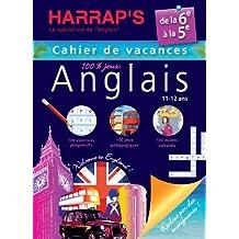 Harrap's Cahier de vacances anglais - De la 6ème à la 5ème