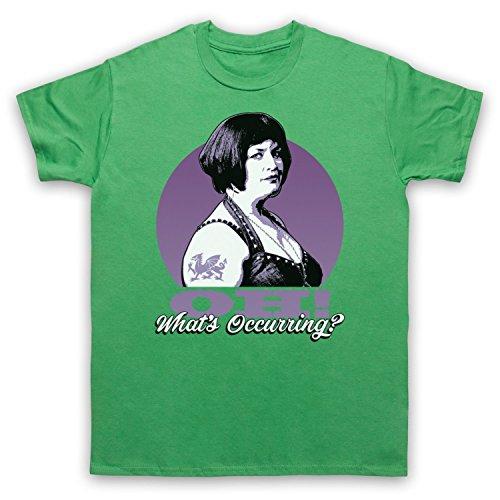 Inspiriert durch Gavin & Stacey Ness Oh Whats Occurring Unofficial Herren T-Shirt Grun