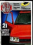 AUTO MOTO N° 44 - Routes d'hiver : histoires salées, Salon de Tokyo : la planète japonaise, Renault 21 : une solution moderne, Opel Kadett 4 portes : le coffre de l'année, Santava 4x4 : un vrai passe-montagne, MG Montego Turbo : sans rivale ?